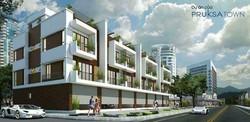 Nhà mặt tiền 5m trục đường 9m,3,5 tầng Pruksa HP,cơ hội sinh lợi nhất HP chỉ từ 10tr/m2 đất