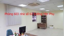 40m2 văn phòng cho thuê tại đường đôi Yên Phụ. LH chủ nhà 0986646169  MTG