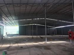 Cho thuê xưởng mặt tiền đường, ngang 24m x 55m - Vĩnh Lộc A, Bình Chánh.