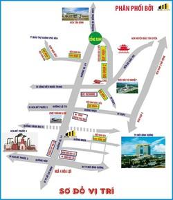 Bán đất vòng xoay cổng xanh khu công nghiệp Tân Bình huyện bắc tân uyên bình dương 750tr/ nền