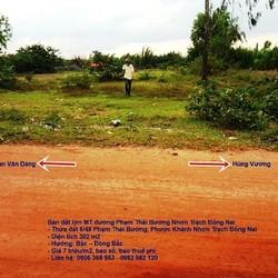 Bán đất nền  Phà Cát Lái-Nhơn Trạch Đồng Nai- phù hợp đầu tư và ở