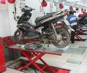 10 Bàn nâng xe máy và moto