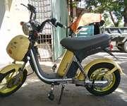 Cần bán xe Nijia phanh đĩa màu vàng hình thức đẹp