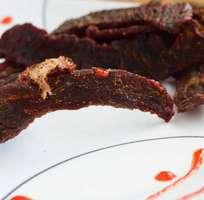 Thịt bò Lào gác bếp thơm ngon