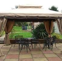 Nhà bạt di động khung nhôm nhập khẩu cho sân vườn và hội nghị ngoài trời.