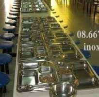 9 Bàn ghế inox Nhà Ăn Công Nghiệp INOX TINTA  Bộ Bàn Ghế Inox Nhà Ăn Công Nhân Giá Rẻ.