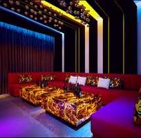 3 Thiết kế nội thất nhà hàng giá rẻ tại hà nội, Thiết kế nội thất Quán Cafe Karaoke