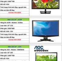2 CHUYÊN MÀN HÌNH...LCD..LED..17in..19..20..22..24..27in, nhiều hãng Samsung...HP..Dell..ACER...Giá Rẻ