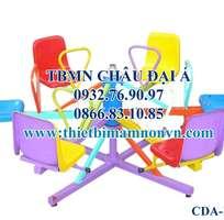 2 Đu quay 6 ghế ngồi dành cho các bé mầm non