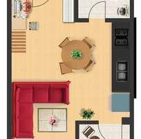 2 Bán gấp 1 căn duy nhất nhà phố 1 trệt 1 lầu