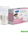 Combo 3 hộp túi trữ sữa Sanity - Đức 210ml