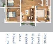 2 Căn hộ 77m2, căn góc 4 mặt thoáng, nội thất đầy đủ, chuẩn bị bàn giao ngay cạnh Vincom Long Biên