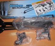 4 Thanh lý cả bộ micro thu âm Up 660   Soucad K10   Giá đỡ    Tấm lọc thanh