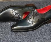 4 Giày cột dây công sở, giày tây nam cao cấp, giày da nam đẹp nhất hiện nay