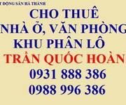 Nhà ngõ 6 Trần Quốc Hoàn, Dt 65m2 xây  5T, đường 6m, giá 16tr/th