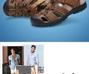 4 Dép sandal nam Dekesen 26875 DSB015
