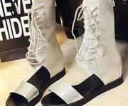 3 Giày sandal boots đan dây Mã: GC0228