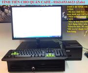 Trọn bộ máy tính tiền cho quán cafe giá rẻ tại Bình Dương