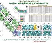 6 Chỉ 800 triệu căn 2PN tại Xuân Mai Complex, tòa mới, LS 0, CK 2, Vay 70/20 năm
