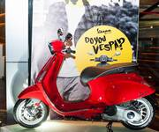 Vespa tri ân khách hàng với quà tặng giá trị cao