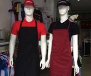 2 Ngoài may áo đồng phục công ty,... còn  may áo bếp, tạp dề, mũ ,... theo yêu cầu KH nhé