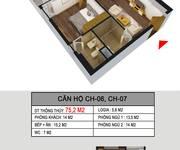 MTG  Cần bán căn góc  75m2 2PN, 2 Logia khu CC 536A Minh Khai