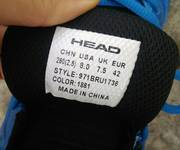 Bán giày thể thao Head like new size 42 - 400k