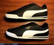 1 Giầy Puma Roma Sneaker Boots Đen và Trắng
