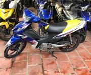 Motor giá  siêu rẻ Axelo côn tay 4 số 14,5 triệu , màu xanh trắng gp biển 15