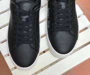 1 Giày buộc dây Da cho Nam 2 màu: Trắng/ Đen hàng xuất xịn giá rẻ tại Hà Nội
