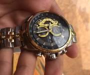 1 Đồng hồ edifice gold bạc mới 98% giá 700k