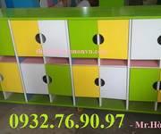 1 Tủ tư trang dành cho bé mầm non có cửa đóng - an toàn - giá rẻ