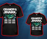 Áo pull hot Grandpa Shark Doo Doo Doo