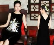 3 Đầm vẽ tay thủ công trên chất liệu Linen