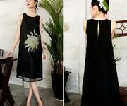4 Đầm vẽ tay thủ công trên chất liệu Linen