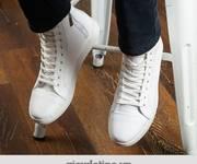 Giày sneaker all white mẫu sneaker cho nam sành điệu
