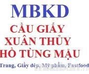 MBKD phố Xuân Thủy, Cầu giấy, Hồ Tùng Mậu, Kim Mã...