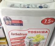 Máy giặt toshiba 7,5kg mới 85% giá 1tr950