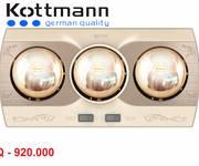 8 BÁN đèn sưởi phòng tắm chính hãng Hans giá từ 690K