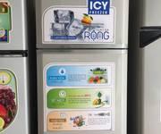 Tủ lạnh toshiba 125lit mới 85% gas lốc zin 100% giá 1tr550