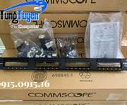 2 Phân phối Patch Panel thanh đấu nối CommScope/AMP Cat5/Cat6 24, 48p chính hãng dự án rẻ nhất Hà Nội.