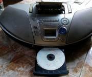 3 Đài đĩa CD có radio, cassette Sony, Panasonic, Philips, Kenwood Nhật chuyên nghe nhạc, học ngoại ngữ
