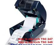 Máy in mã vạch TSC TTp 247 giá rẻ