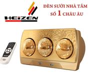 Tổng kho phân phối đèn sưởi Đức 3 bóng điều khiển từ xa chính hãng giá rẻ