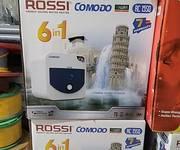Thanh lý nhanh bình nóng lạnh Rossi 20 lít ngang mới tinh chưa bóc hộp giá 1 triệu 850 hỗ trợ lắp đặt tận nơi