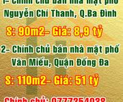 Chính chủ bán nhà mặt phố Văn Miếu, Quận Đống Đa, Hà Nội