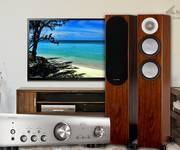 Bộ âm thanh chất lượng Amply Denon PMA 800NE Loa Monitor Audio Silver 200, Giá rẻ tại HN