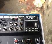 9 Mixer yamaha F7 MB Chống Hú Míc   có kết nối usb và bluetooth