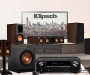 CHÀO XUÂN 2019 Giảm Giá Bộ âm thanh Denon X1500H-Loa 5.1 Klipsch 600M nghe nhạc, Xem phim hot