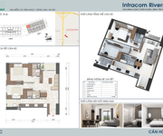14 Dự Án INTRACOM RIVERSIDE, Giá CĐT, Từ 19,5 triệu/m2, CK 2,5, Nhận Nhà Tháng 12/2019